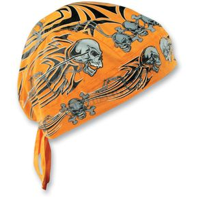 Zan Headgear Tribal Skull Flydanna® Head Wrap - Z669