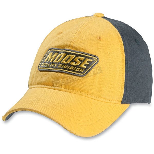 Moose Mud Boggtrotte Yellow/Gray Hat - 25011008