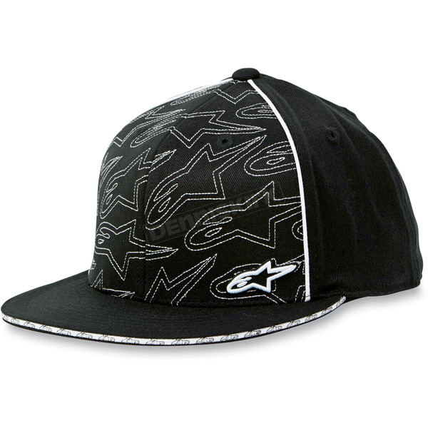 Alpinestars Black 210 Burnout Hat - 10128101510ALXL