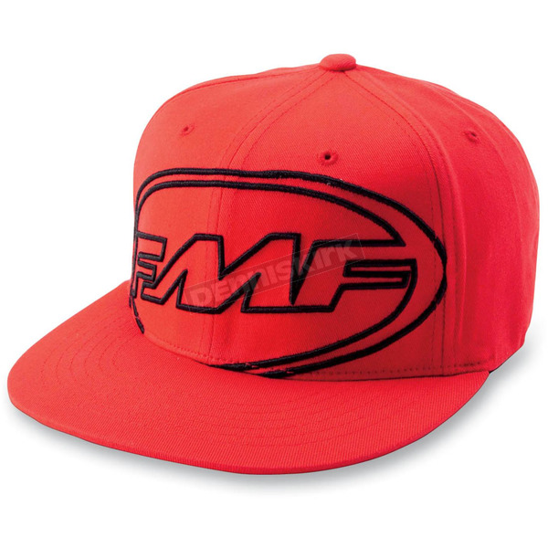FMF Red Big Scatter Hat - F12196104REDLXL