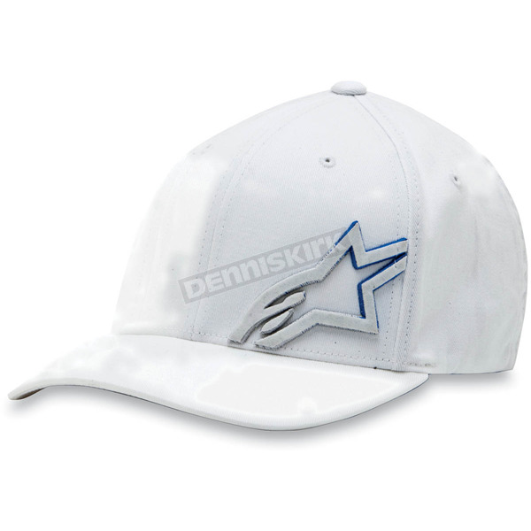 Alpinestars White Cloaked Hat - 1013-8100420LXL