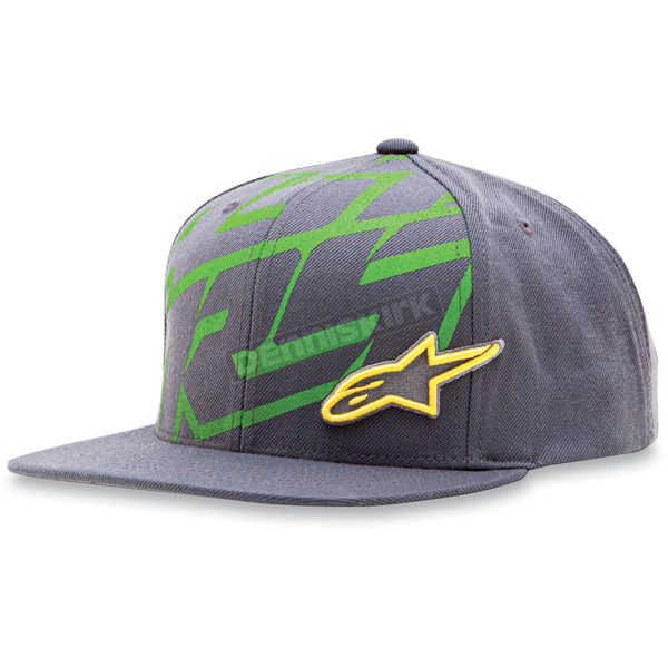 Alpinestars Charcoal Typo Hat - 1013-8505718