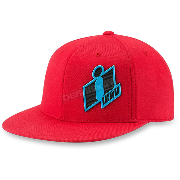 Icon Red Double Up Hat - 2501-1967