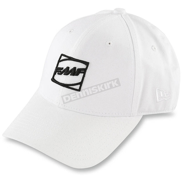 FMF White Fairway Flexfit Hat - F35196103WHT
