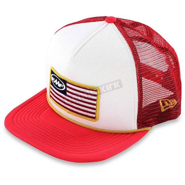 FMF Red Stars and Bars 2 Hat - F35196109REDONZ