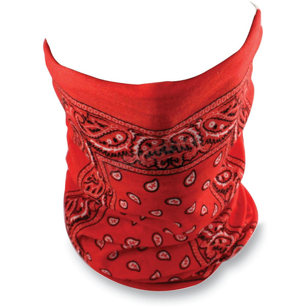 Zan Headgear Red Paisley Motley Tube - T106