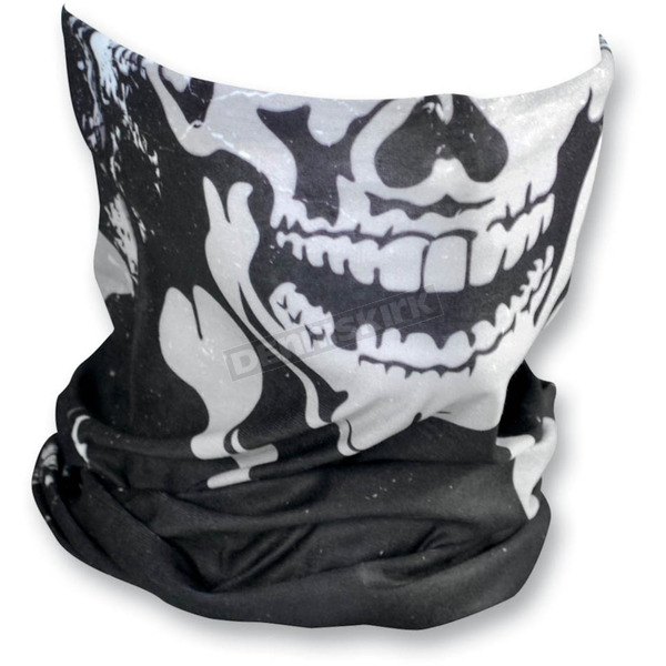 Zan Headgear Skull and Crossbones Motley Tube - T227