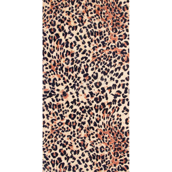 Schampa Brown Leopard Tube Multi-Wear Headwear - TUBE-18