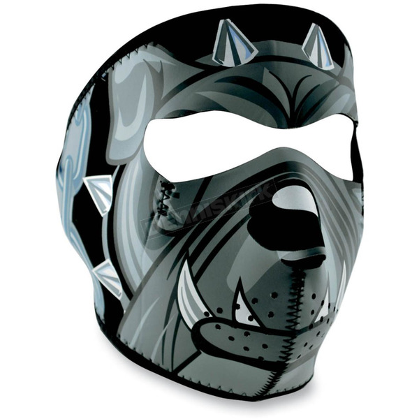 Zan Headgear Lethal Threat Bulldog Full Face Mask - WNFMLT07