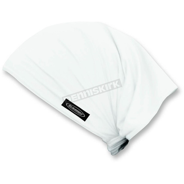 Schampa White Traditional Doo-Z Headwrap - DZ01-01