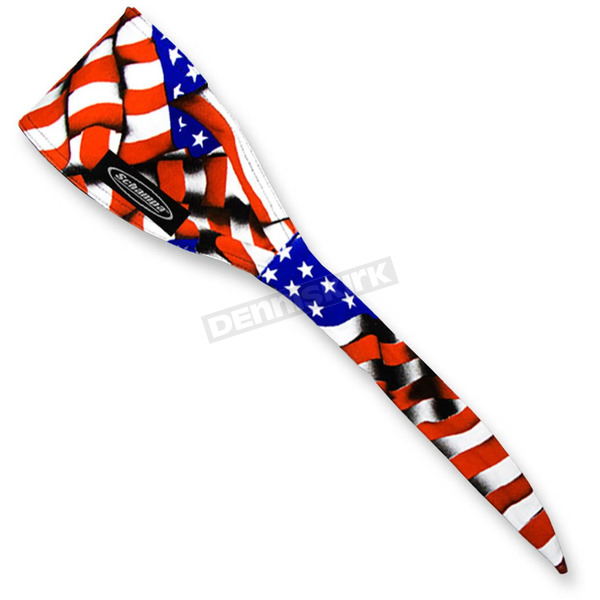 Schampa Red/White/Blue American Flag Old School Bandana - OSB1-24