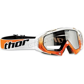 Thor Hero Goggles with Transparent Orange/White Frame - 2601-0698