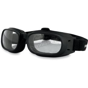 Bobster Piston Goggles w/Clear Lens - BPIS01C