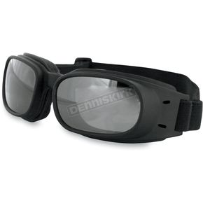 Bobster Piston Goggles w/Reflective Lens - BPIS01R