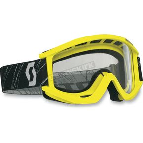 Scott Yellow Recoil Goggles - 217796-0005041