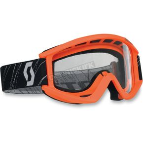 Scott Orange Recoil Goggles - 217796-0036041