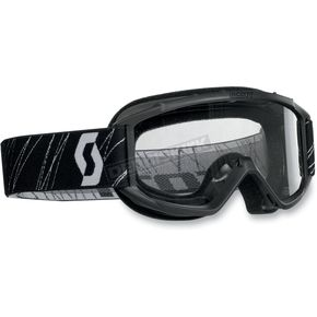 Scott Black Model 89Si Youth Goggles w/Clear Standard Lens - 218158-0001041