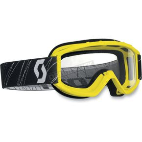 Scott Yellow Model 89Si Youth Goggles w/Clear Standard Lens - 217800-0005041