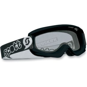 Youth Black Agent Goggles w/Clear Standard Lens  - 221333-0001041