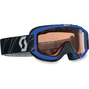 Scott Blue/Blue Youth 89Si Snowcross Goggle - 217801-0003108