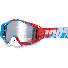 100% Supersonic Racecraft Goggles w/Mirror Lens - 50110-044-02