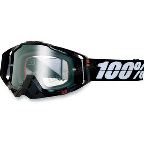 100% Racing Tuxedo Racecraft Goggles w/Clear Lens - 50100-043-02
