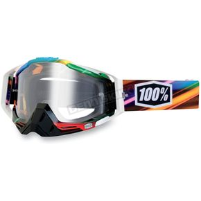 100% Kaleidoscope Racecraft Goggles w/Clear Lens - 50100-045-02