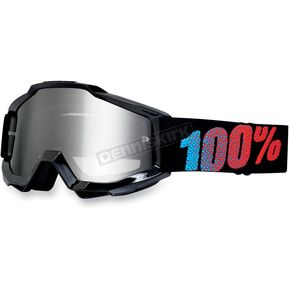 100% Youth Black Accuri Goggles  - 50310-001-02