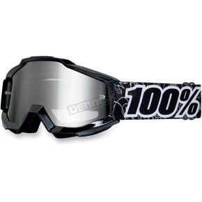 100% Youth Black Graph Accuri Goggles  - 50310-041-02