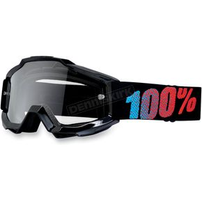 100% Youth Black Accuri Goggles  - 50300-001-02