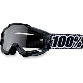 100% Youth Black Graph Accuri Goggles  - 50300-041-02