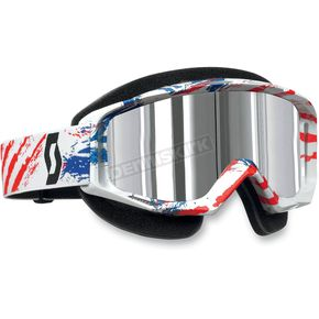 Scott Tyrant Snowcross Goggles w/ Thermal Silver Chrome Lens - 227389-3600015