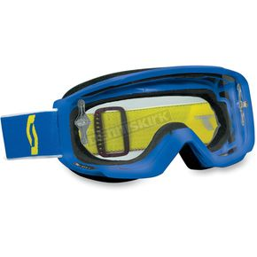 Scott Blue Split OTG Goggles - 227385-0003041