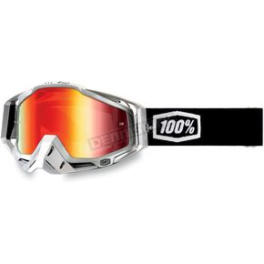 100% Terminator Racecraft Goggles w/Mirror Red Lens - 50110-055-01