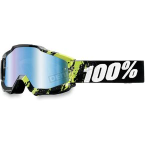 100% Slimy Accuri Goggles w/Mirror Blue Lens - 50210-027-01