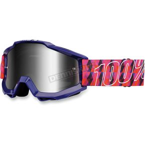 100% Purple Accuri Sultan Goggles - 50210-063-02