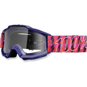 100% Purple Youth Accuri Sultan Goggles  - 50300-063-02