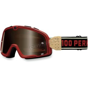 100% Red Barstow Classic Goggles - 50002-087-02