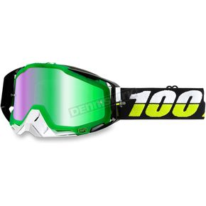 100% Racecraft Simbad Goggle w/Mirror Green Lens - 50110-132-02