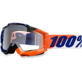 100% Accuri Wilsonian Goggle w/Clear Lens - 50200-133-02