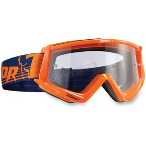 Thor Orange/Navy Conquer Goggles - 2601-1925