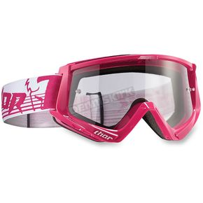 Thor Pink/White Conquer Goggles - 2601-1926