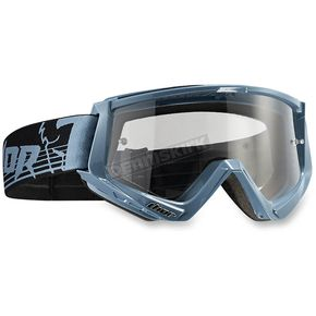 Thor Steel/Black Conquer Goggles - 2601-1930