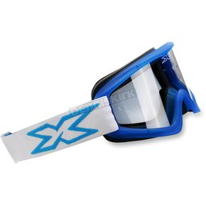 EKS Brand Cyan Flat Out Goggles - 067-10340
