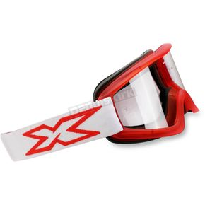 EKS Brand Red Flat Out Goggles - 067-10345