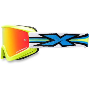 EKS Brand Fluorescent Yellow GOX Limited-X Goggles  - 067-10740