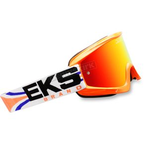 EKS Brand Fluorescent Orange GOX Limited-X Goggles - 067-10745