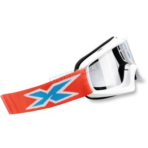 EKS Brand Youth Red/White/Blue X-Grom Goggles - 067-30165