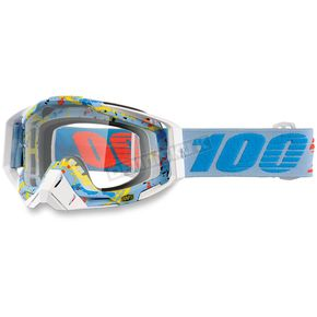 100% Racecraft Hyperloop Goggles w/Clear Lens - 50100-193-02