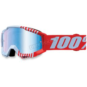 100% Accuri Youth Cupcoy Goggles w/Mirror Blue Lens - 50310-202-02